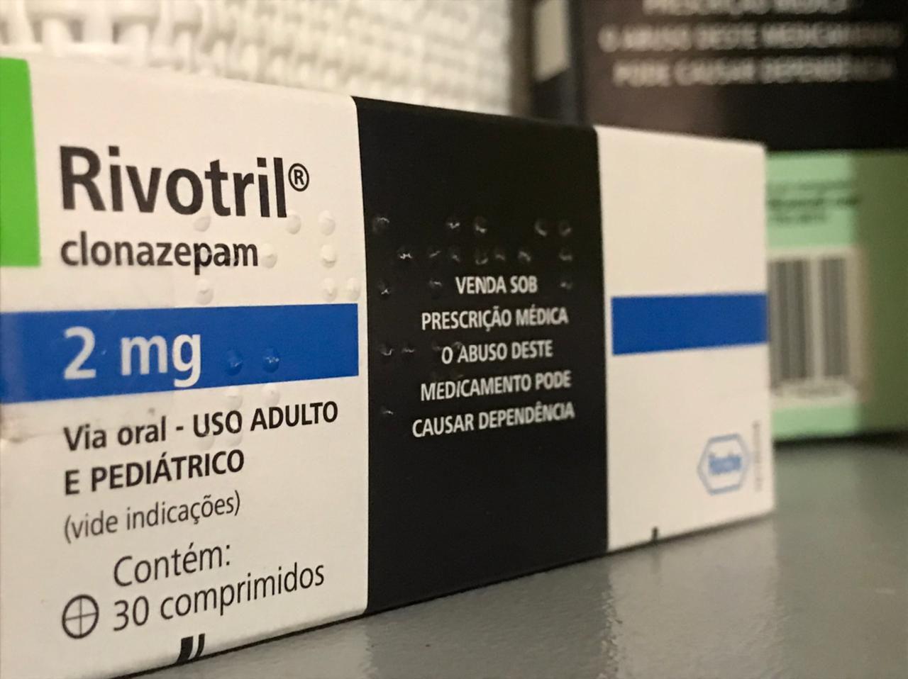 Rivotril foi o medicamento controlado mais vendido no Alagoas em 2020